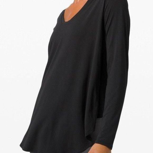 Lululemon - Up for Down Time Long Sleeve - Size 10